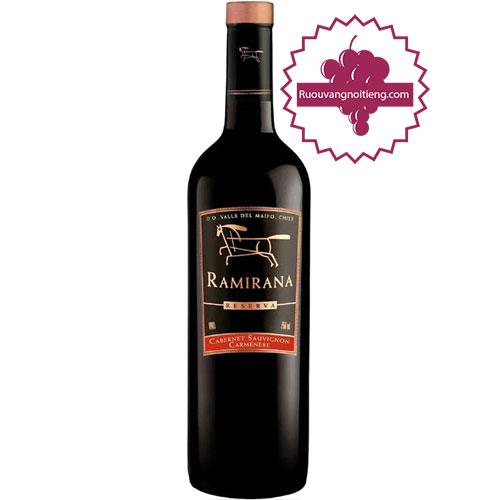 Rượu Vang Ramirana Reserva [HT] - ruouvangnoitieng.com