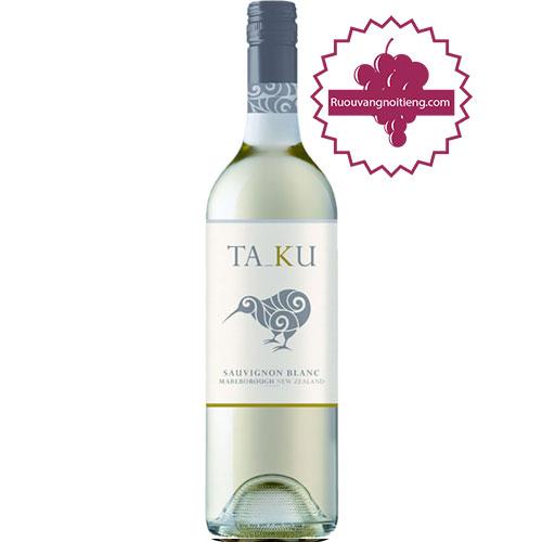 Rượu Vang Taku Sauvignon Blanc [HT] - ruouvangnoitieng.com