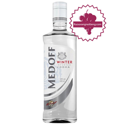 Rượu Vodka Medoff Winter [HT] - ruouvangnoitieng.com