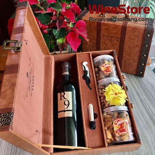 Hộp Quà Rượu Vang R9