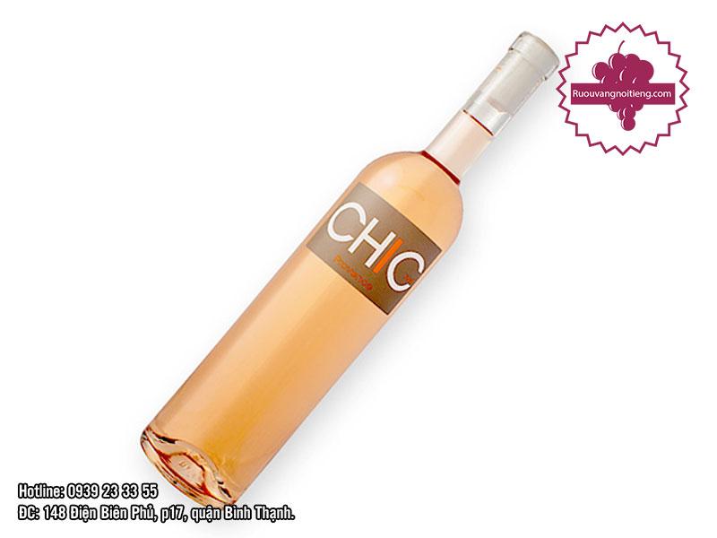 Rượu vang hồng của Pháp - Chic - ST Tropez - Regis Chevalier 1500ml