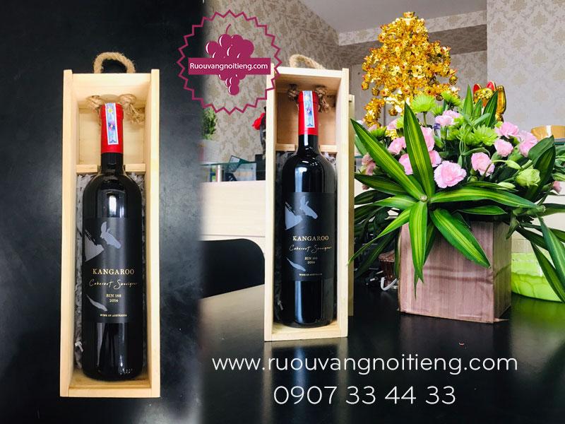 Rượu vang Kangaroo Bin 188 do L&S WINE một nhà sản xuất