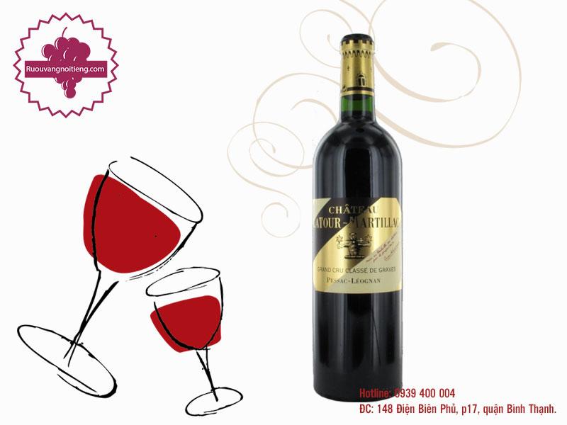 Rượu vang Chateau La Tour Martillac Grand Cru Classe 2006