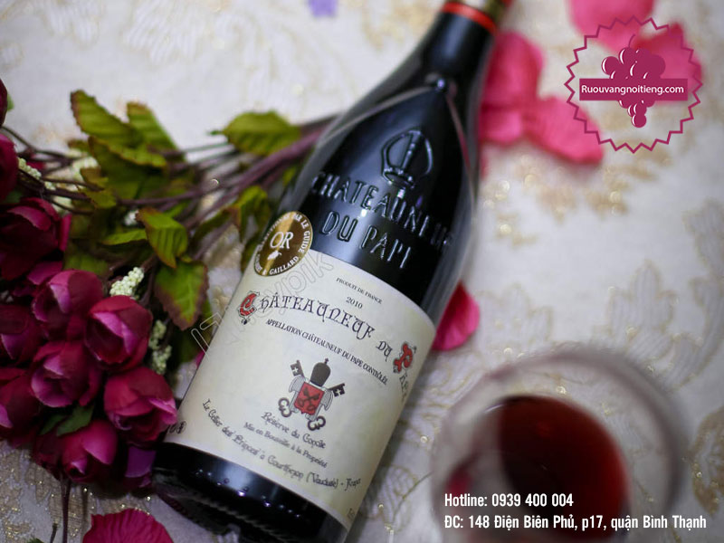 Rượu vang Chateauneuf Du Pape Domaine Barville