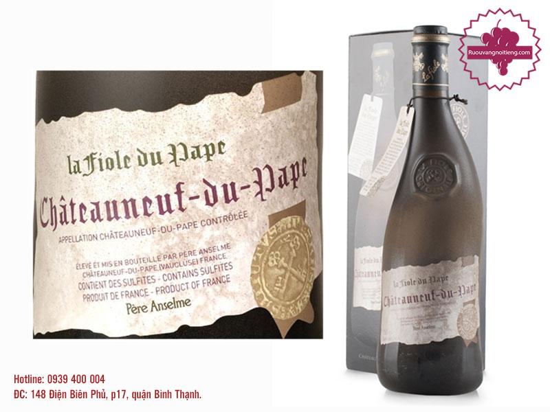 Rượu vang La Fiole Du Pape