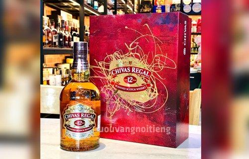 Rượu Chivas 12 mẫu Tết 2021 - Siêu lung linh - Rượu vang nổi tiếng